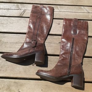 Brown boots size 8 US 38 EUR